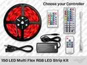 RGB Multi Flex LED Strip Kit