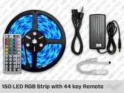 RGB LED Strip with 44 Key Remote (150 LED) LED Strip