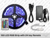 RGB Uncoated IP20 LED Strip kit