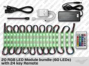 Kit de 20 Modules LED RGB (60 LEDs)