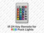 24 Key Remote for RGB LED Puck