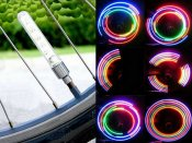 Pack of 2 Basic Bicycle wheel LED pattern producer double kit