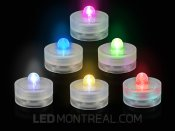 Chandelles LED Submersible à batteries