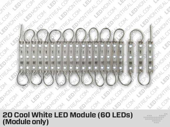 20 Cool or Warm White LED Modules (Module Only)