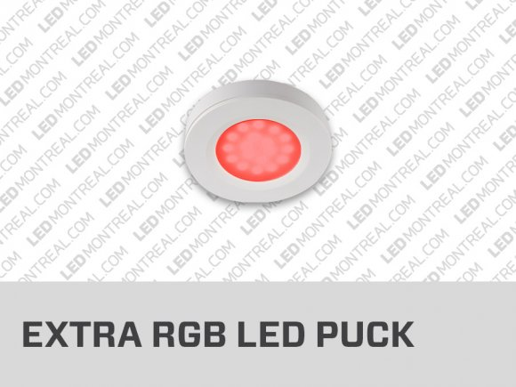 Additional Under Cabinet RGB Puck Lights