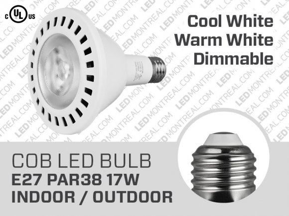 17W PAR38 Dimmable LED Light Bulb