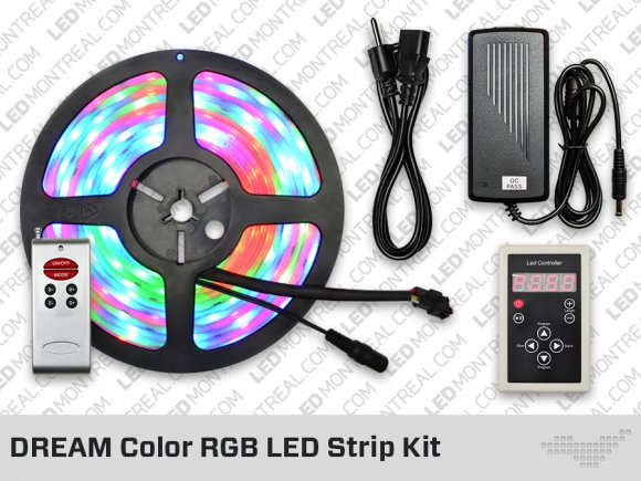 DREAM Color RGB LED Strip Bundle