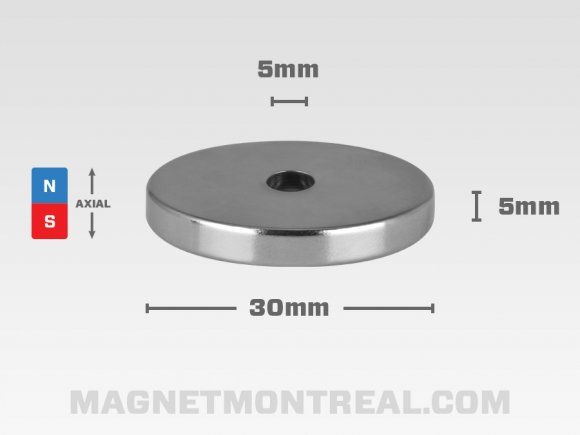 Small Neodymium Mounting Ring Magnet