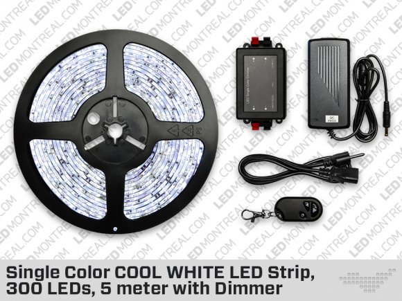 Cool White ip65 LED Strip kit (300 LED)