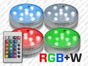 RGB LED Puck Light