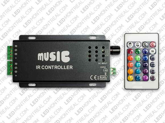 Sound Controller for RGB LED Strips